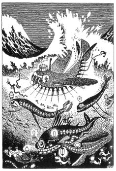 """""""One makes a trip by day, but by night one sets out on a journey."""" –Moomintroll by Tove Jansson"""