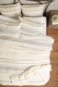 Rippled Stripe Duvet