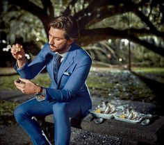 The New Breed of Blue Suits | GQ