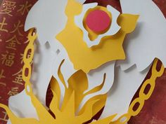 "Clow Magic Book Layered Paper Cut Art Piece 8""x10"" Shadowbox FrameThese Paper CutOuts are designed using Scale Vector Graphics and cut using a paper cutter for precision details. Than by hand they are arranged"