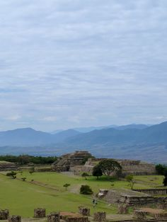 Monte Alban---Oaxaca, Mexico
