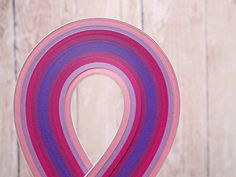 Paper Quilling Strips // Purple Pink mix // by QuillingWonderland Quilling Supplies, Paper Quilling, Paper Strips, Bubble Envelopes, Shades Of Purple, I Shop, Birthday Cards, Colours, Pink