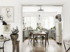Photos by Petra Bindel of the home Christopher Bastin, former Creative Director of Gant, shot for Åhléns Magazine.