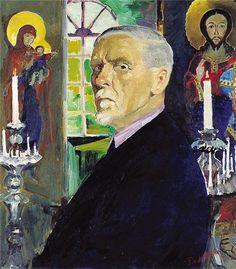 Filipp Malyavin (self-portrait) - Список художников Серебряного века — Википедия. Филипп Андреевич Малявин.