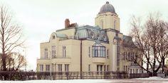 Villa Ensi, Eira, Helsinki. Architect Selim A. Lindqvist