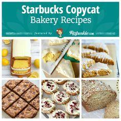 Starbucks Copycat Bakery Recipes - desserts, sweet treats, yummy food - via @TipJunkie