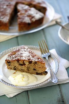 Greek yogurt, apple, raisin & walnut cake - MediterrAsian.com