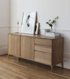 Romana Dresser - Oak / L 160 cm by Ercol