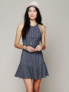 Free People Polka Dot Tank Dress at Free People Clothing Boutique