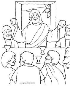 find this pin and more on by eirinixilourisk last supper coloring page