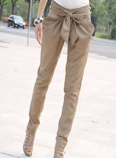 stylelist-tidebuy:  Fashionable Korean Leisure Bow Knot Classical Haroun Pants