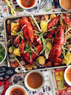 Cajun Seafood Boil, Cajun Crawfish, Crawfish Recipes, Cajun Recipes, Seafood Recipes, Smoke Sausage And Potatoes, Garlic Butter Sauce, Cajun Seasoning, Food Inspiration