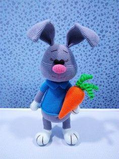 PDF Заяц Стёпка. Бесплатный мастер-класс, схема и описание для вязания игрушки амигуруми крючком. Вяжем игрушки своими руками! FREE amigurumi pattern. #амигуруми #amigurumi #схема #описание #мк #pattern #вязание #crochet #knitting #toy #handmade #поделки #pdf #рукоделие #заяц #зайка #зайчик #зайчонок #зая #зай #кролик #крольчонок #rabbit #hare #lepre #conejo #lapin #hase