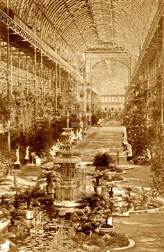 Crystal Palace, Sydenham, circa 1900.
