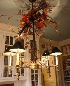 20 Best 20 Fall Chandelier Decoration Ideas Images