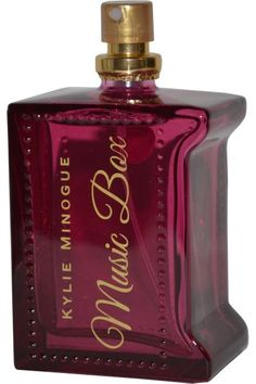 Kylie Minogue Music Box Eau de Toilette is an alluring floral and fruity fragrance for women. Inspired by Kylie's love of the musical quality of an old fashioned music box, this fragrance is designed to evoke the same sense of surprise and delight. Top notes: Mara des Bois Strawberry, Raspberry and Bergamot. Heart notes: Orange Blossom, Rose and Freesia. Base notes: Sandalwood, Amber and White Musk.