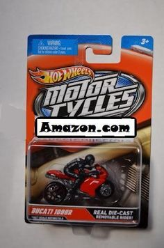 Hot Wheels 2012 Motor Cycles Ducati 1098R Red/Grey by Mattel. $1.49. 1:64. Real Die-Cast Removable Rider