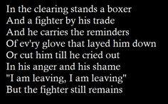 The Boxer, Simon and Garfunkel