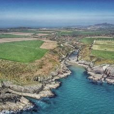 The old Roman Port of Porthclais, Pembrokeshire. Wales. The port is now used by small boats, mostly owned by those local to the area but the pleasure boats used throughout the summer are also wintered here. Four derelict lime kilns stand at the head of the port, as a reminder to its largely forgotten past. Image & caption by Ben George https://www.instagram.com/uplookingdown/