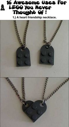 16 Awesome Uses For LEGO You Never Thought Of <3This is kinda cute! (: