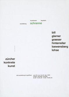 Zürcher konkrete kunst    Design – Josef Müller-Brockmann