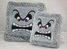Super Mario Thwomp Pillow - Whyrll.com