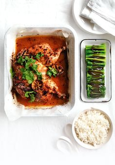 A tasty dish that frees you up for plenty of entertaining this weekend. Simply marinate overnight or in the morning and pop in the oven to roast. Leftovers make for a great salad the next day.