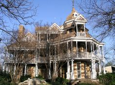 The Seaquist house has a ball room complete with an orchestra loft on the third floor.  The back is just as beautiful as the front.  This incredible house is for sale!  Located in Mason, Texas