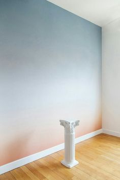 15 Best Fabulous Ombre Wall Paint Designs and Ideas Ombre Painted Walls, Ombre Walls, Wall Design, House Design, Design Design, Deco Rose, Design Your Home, Beautiful Wall, Paint Designs