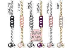 Be Chic Shocking Bracelets  by New York can wait...