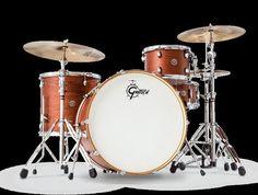 "New! Gretsch CT1-R444C-SWG Drum Set Classic Vintage Sizes - 24"" Bass Drum"