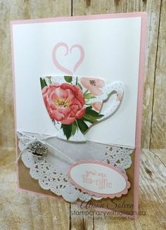 Have a Cuppa stamp set #stampinup www.stampcrazywithalison.ca