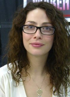This actress was not on my radar as I pondered all the possible female characters for 'Miss Deal...'  Then I saw this picture of Joanne Kelly in glasses!  If this book ever becomes a movie I want Joanne to play Eli's beloved teacher, Mrs. Crenshaw!