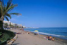 Entspannen am Strand von #Marbella, #Spanien  Relaxing at the #beach of Marbella, #Spain    © Igor Lubinetsky