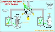 multiple gfci outlet wiring diagram gfci outlet wiring diagram rh pinterest com Light Switch to Outlet to Outlet Wiring Diagram Wiring a Light Switch and Outlet Together