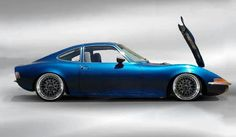 Opel gt low lowered lowrider