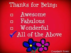 Yes...thank you so much