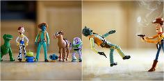 Funniest Action Figure Photography - https://www.wufak.com/toy-story-action-figure/