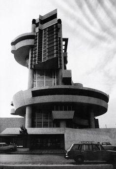 James Usill JourLa Casa del Portuale, Napoli, designed by Aldo Rossi, 1980nal