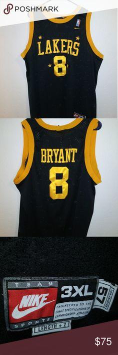 fa1fa7544e7 Nike NBA Lakers Kobe Bryant  8 size XXXL Nike Lakers Jersey Kobe bryant  8