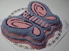 Sommerfugl-kake | Min KAKE-blogg
