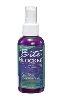 BiteBlocker® Herbal Insect Repellent Spray. Consumer Reports says most effective herbal spray.