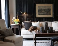 In February 2016, Memphis-based designer Sean Anderson casually mentioned that he had some exciting projects on the horizon. We expected whatever he was working on would bear some of what we consider hallmarks of Anderson's style—carefully layered neutrals, sophisticated dark walls, a mix of modern and traditional styles, some masculine touches—and in many ways we were correct. …