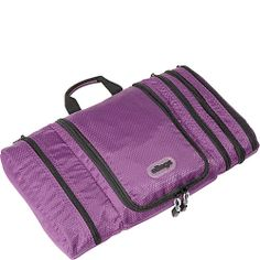 eBags Pack-it-Flat Toiletry Kit - Eggplant  - Order Now: Ships  05/27/14