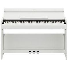 Yamaha Arius YDPS51 digitalt piano (hvit) hos Gear4Music.com