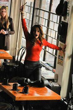 TV Fashion * Show: Fairly Legal * Actress: Sarah Shahi * Character: Kate Reed * Sweater: Marc Jacobs * Pants: Sandro
