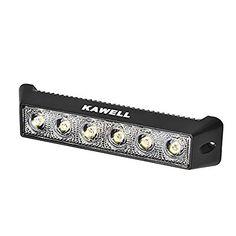 KAWELL® 18W DC 10-30V 6500K LED Flood 60 Degree Off Road Waterproof Work Light Bar for Jeep Cabin/boat/suv/truck/car/atvs/fishing/Deck Driving, http://www.amazon.com/dp/B00NPQV06O/ref=cm_sw_r_pi_awdm_x_neC9xbVGR6F1Z