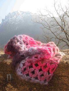 Sciarpona Valsassina pattern by NT Maglia in DROPS Kid Silk
