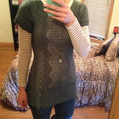 Maurice's Sweater Light-weight layering sweater. Maurices Sweaters Crew & Scoop Necks