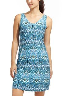 Printed Santorini Dress 3 - New prints and all the best details of our coveted Santorini dresses, like wide straps for wearing with your own bra, v-front and back, and a full swinging skirt.